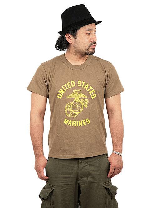 Tee Swing / 1980's Deadstock / US Marine Corps Print T-Shirt