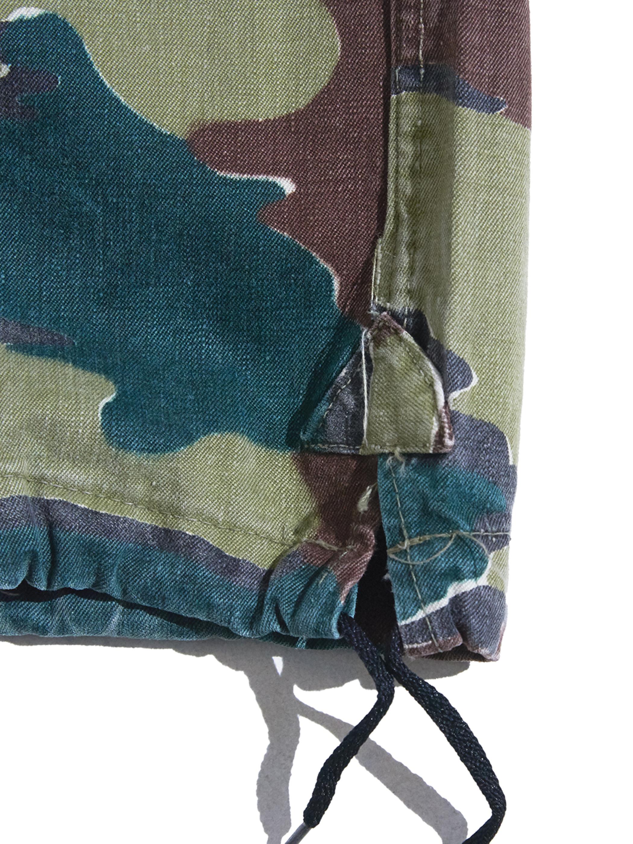"""1960s """"BELGIUM ARMY"""" M-58 camouflage pants -CAMO-"""
