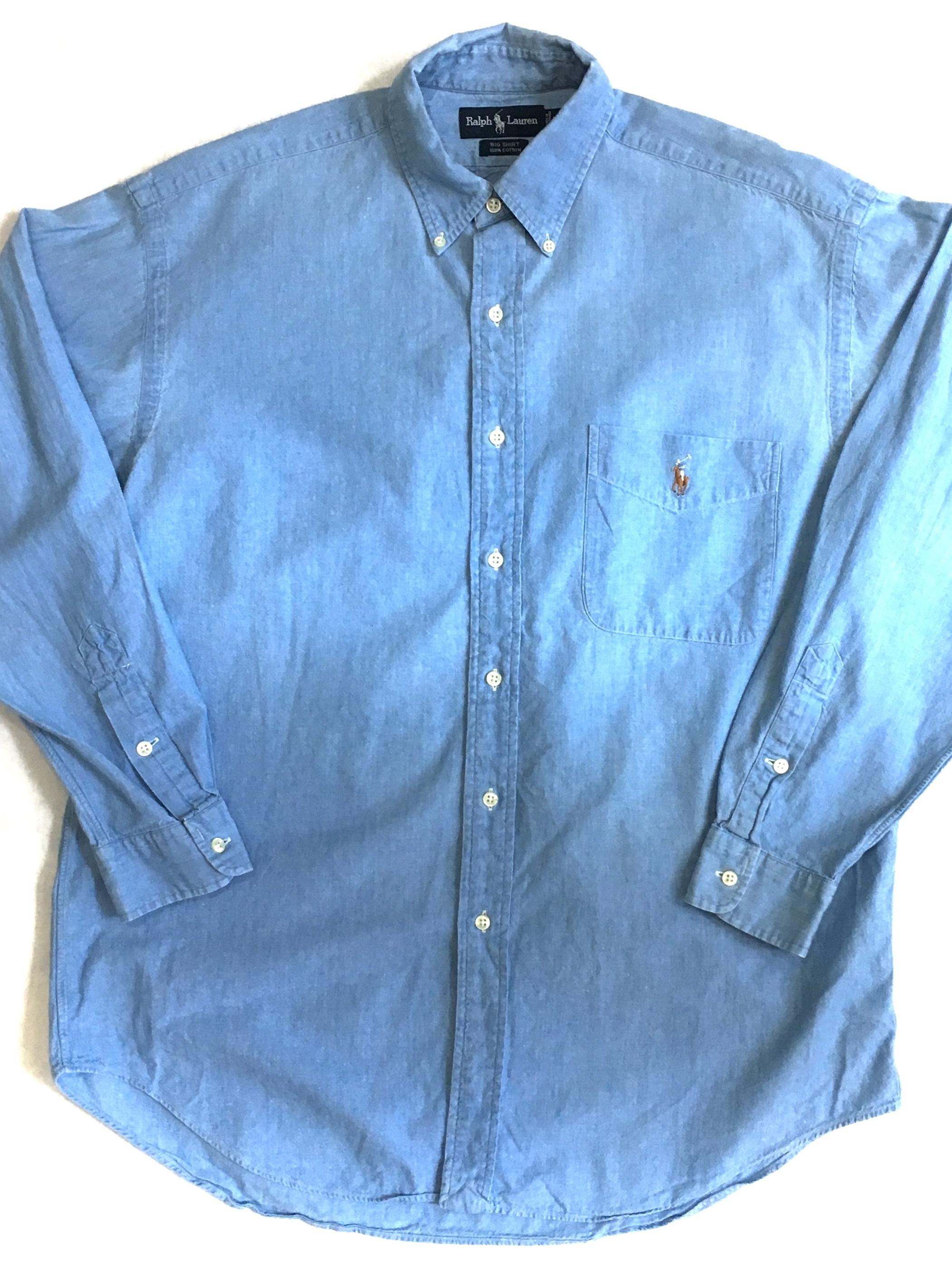 """Ralph Lauren """"BIG-SHIRT"""" cotton shirts"""