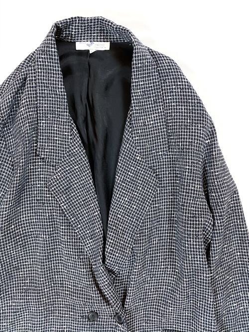 80's double breasted tailored jacket