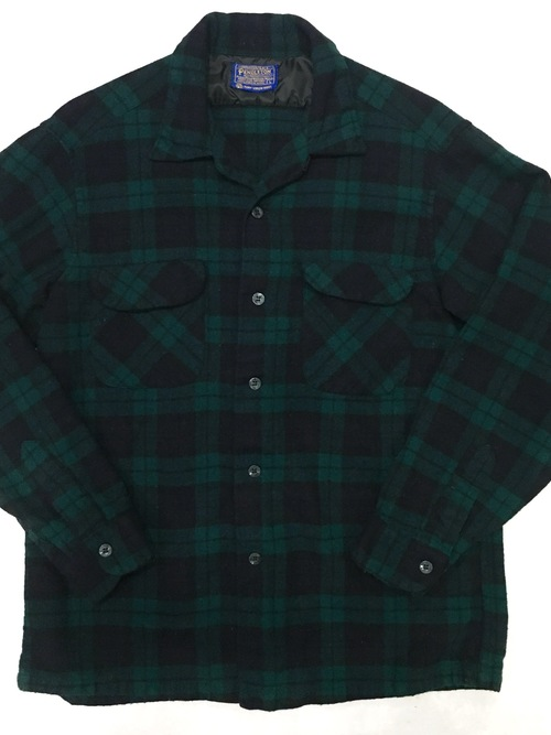 "60's Pendleton wool shirts ""Black Watch"""