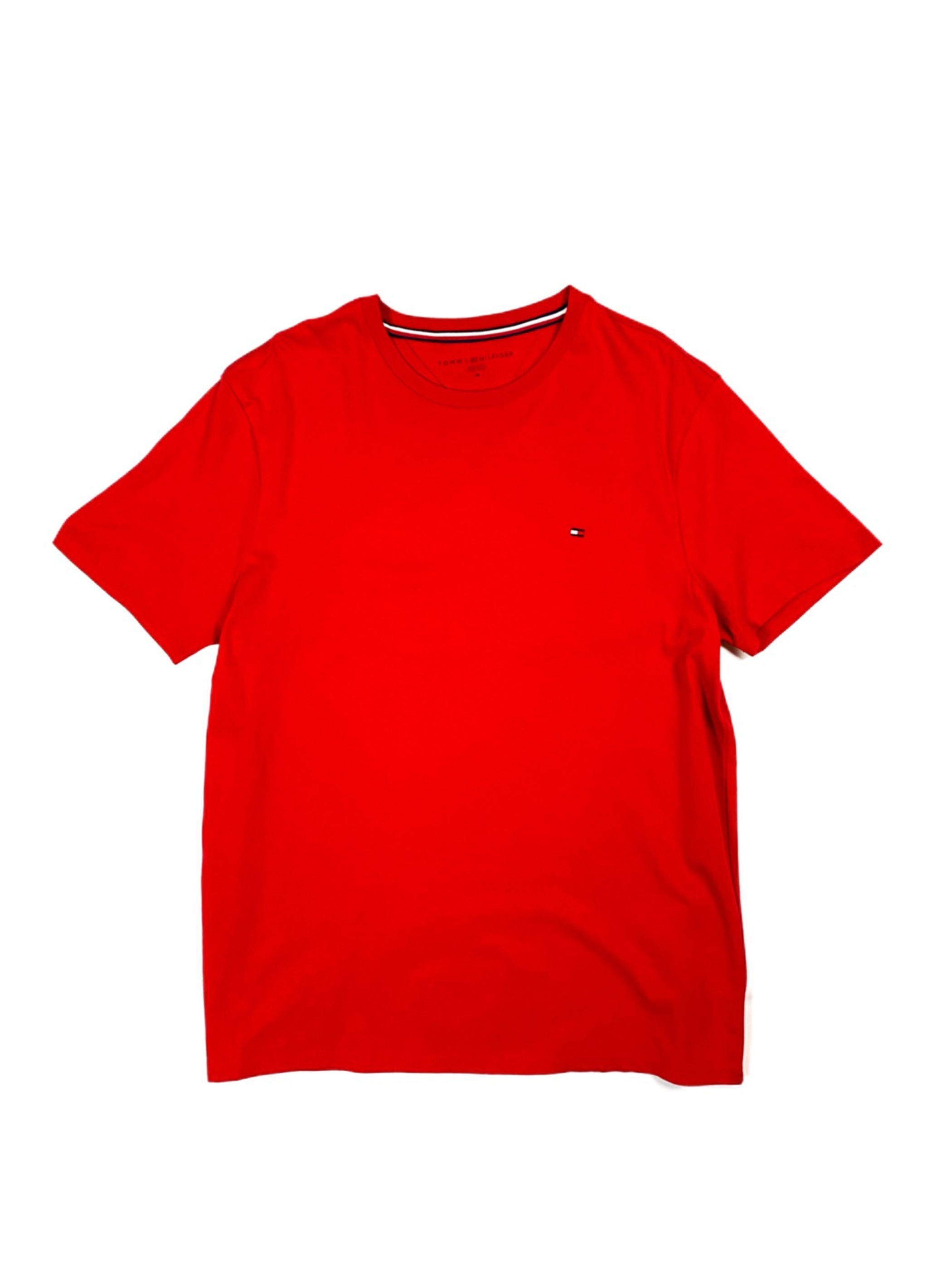 TOMMY HILFIGER one point tee(red)