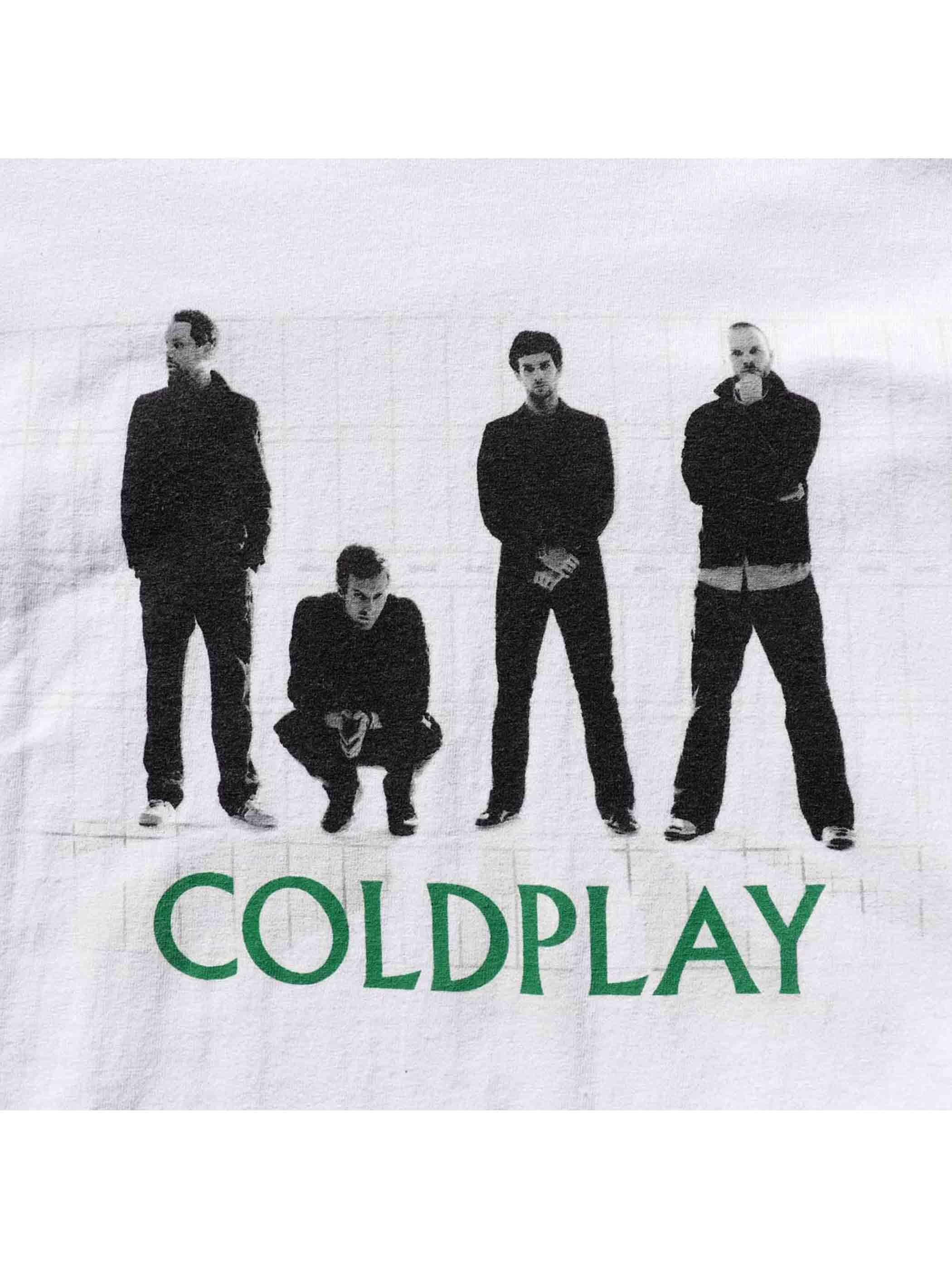 00's COLDPLAY USA製 Tシャツ [XL]