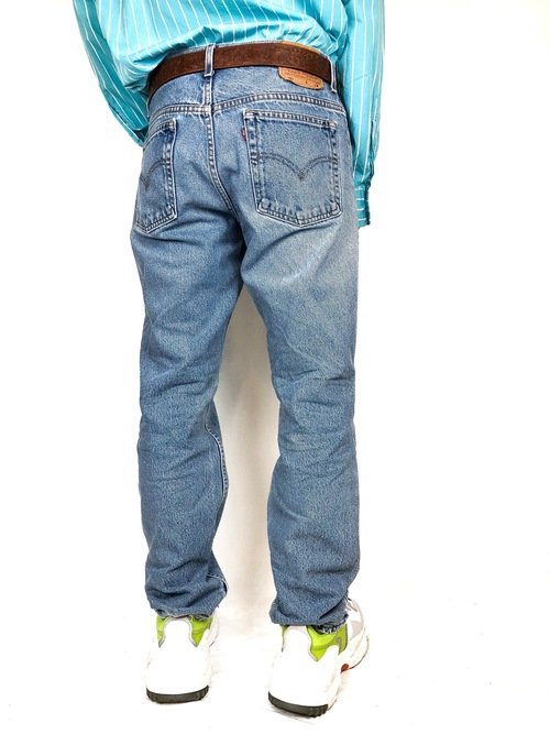 Levi's 505 blue denim pants