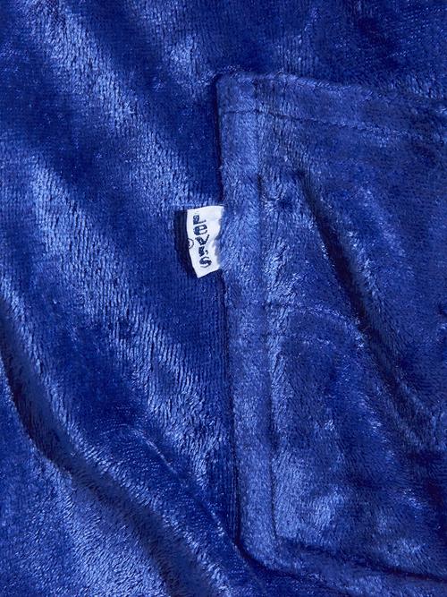 """1980s """"Levi's"""" velour track pants -BLUE- <SALE¥10000→¥8000>"""