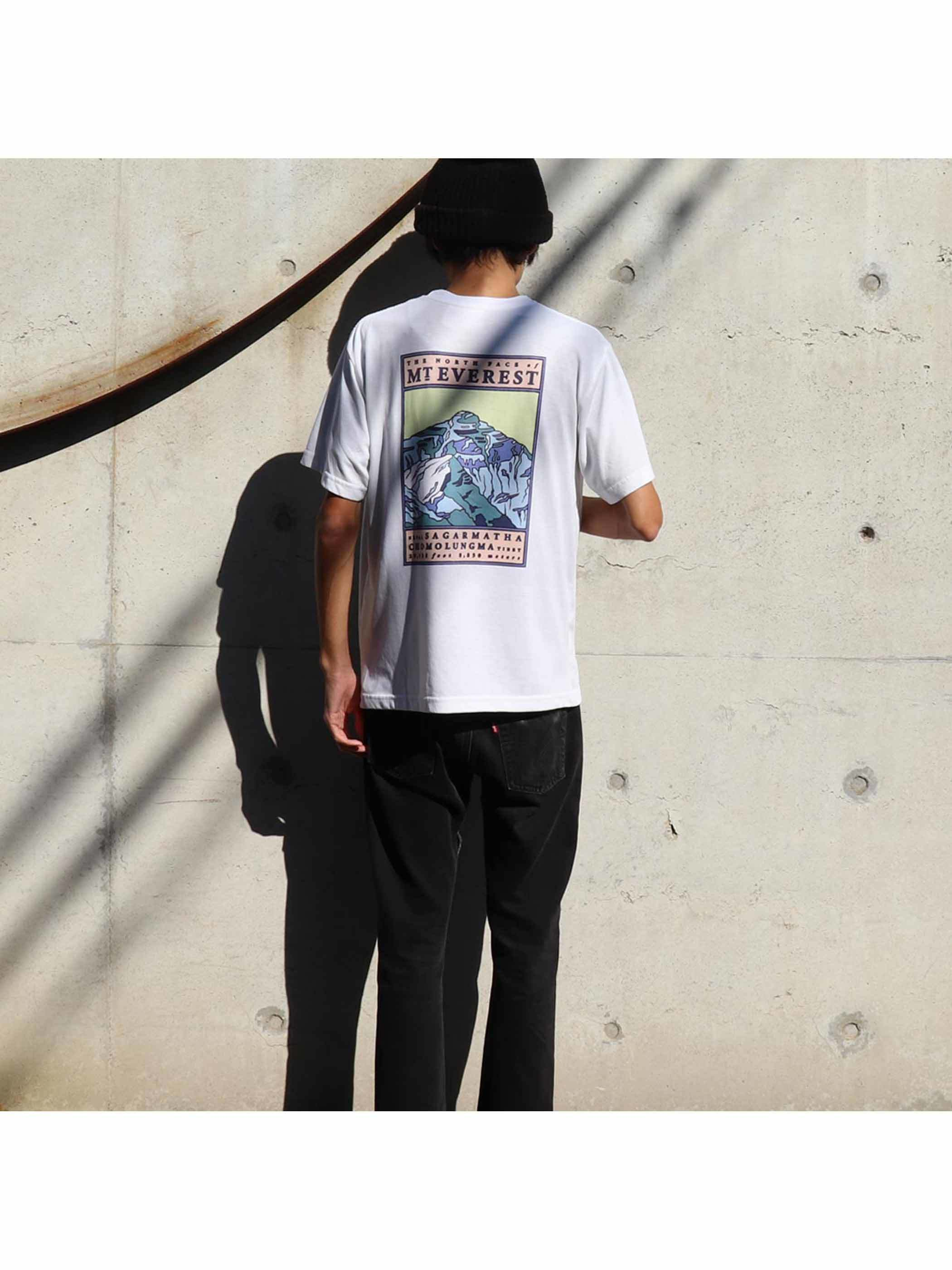 """90's THE NORTH FACE """"MT EVEREST"""" USA製 Tシャツ [S]"""