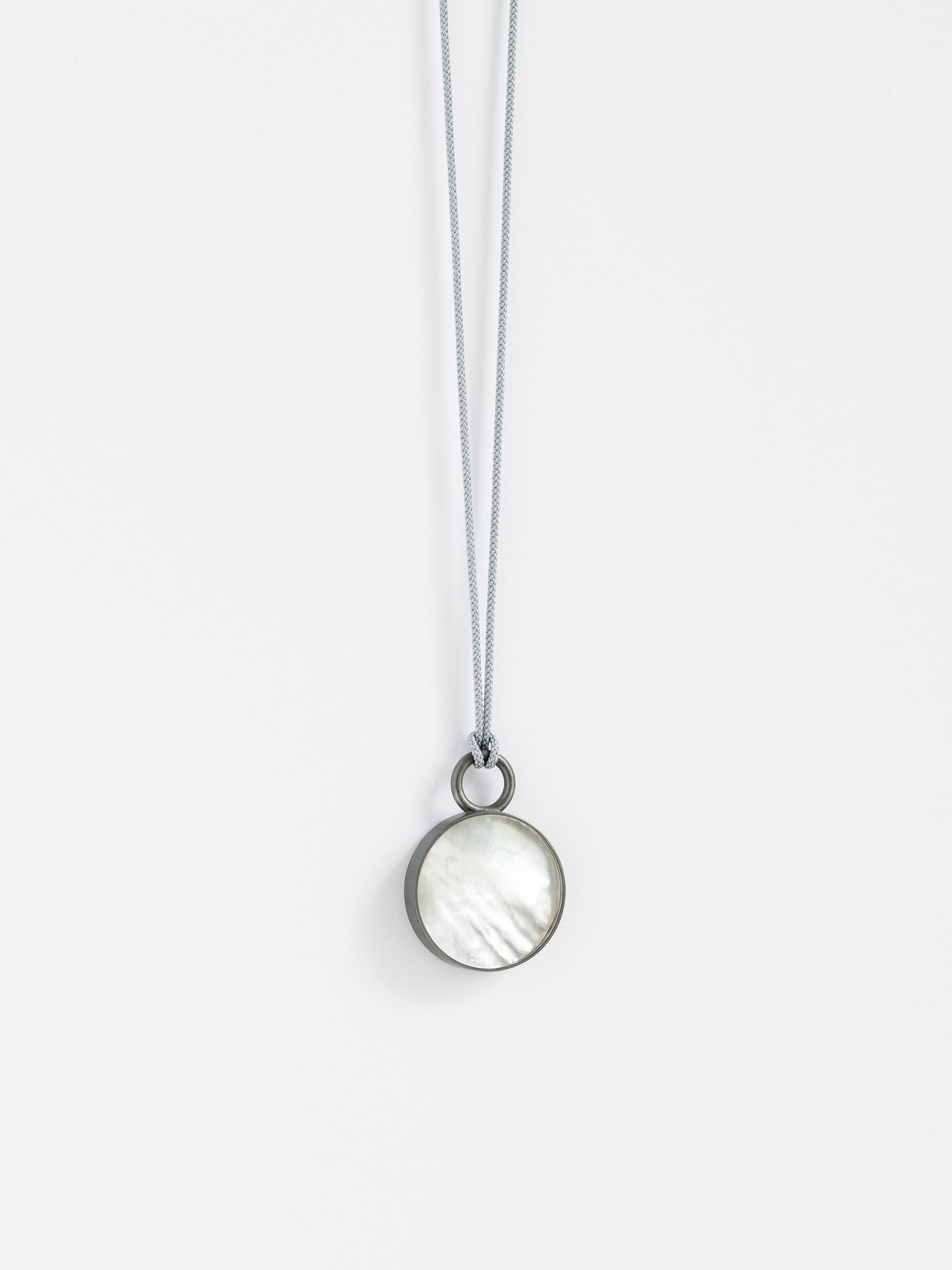 Mother Pendant / White