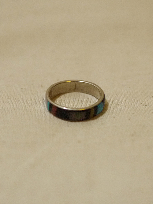 ZUNI Inlay Ring #5