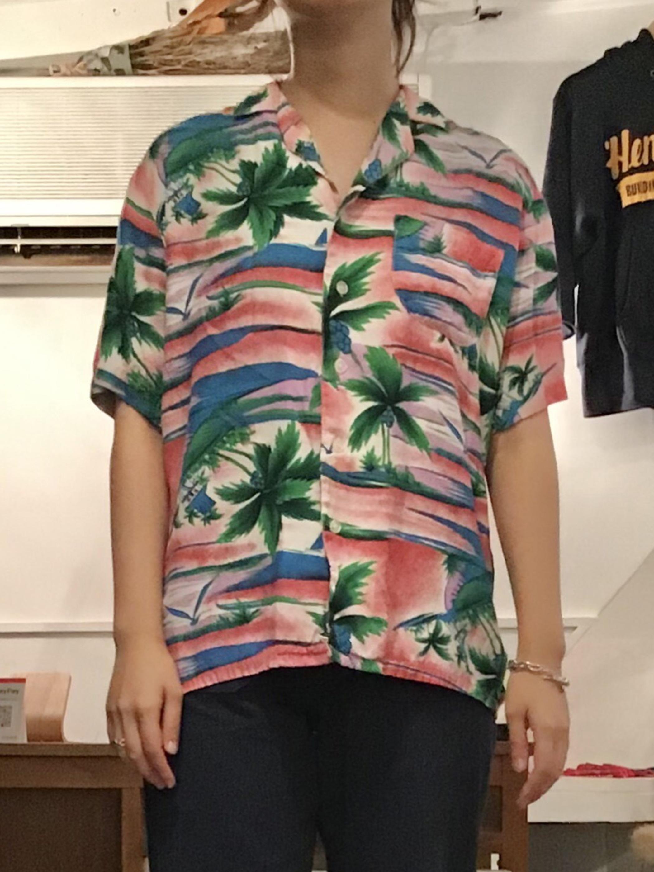 MAUI VALLEY Aloha Shirt SizeS