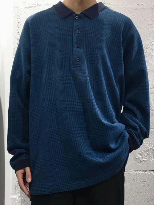 Eddie Bauer L/S cotton polo shirts