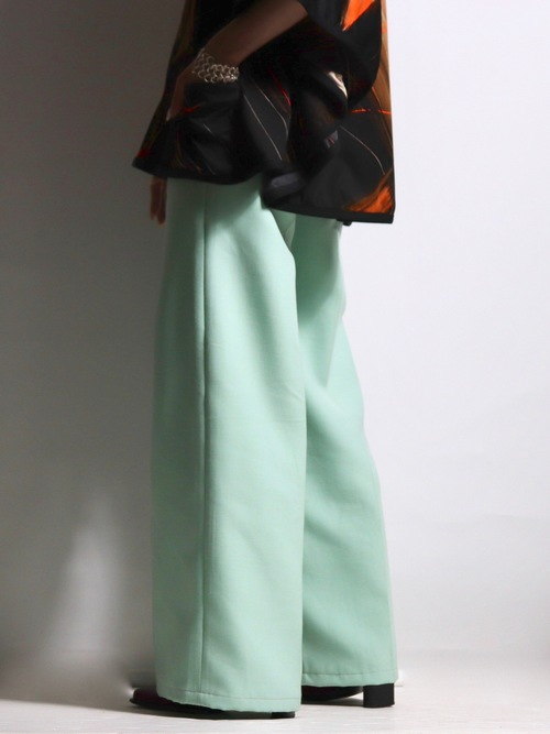 1970〜1980's Euro color wide flare pants