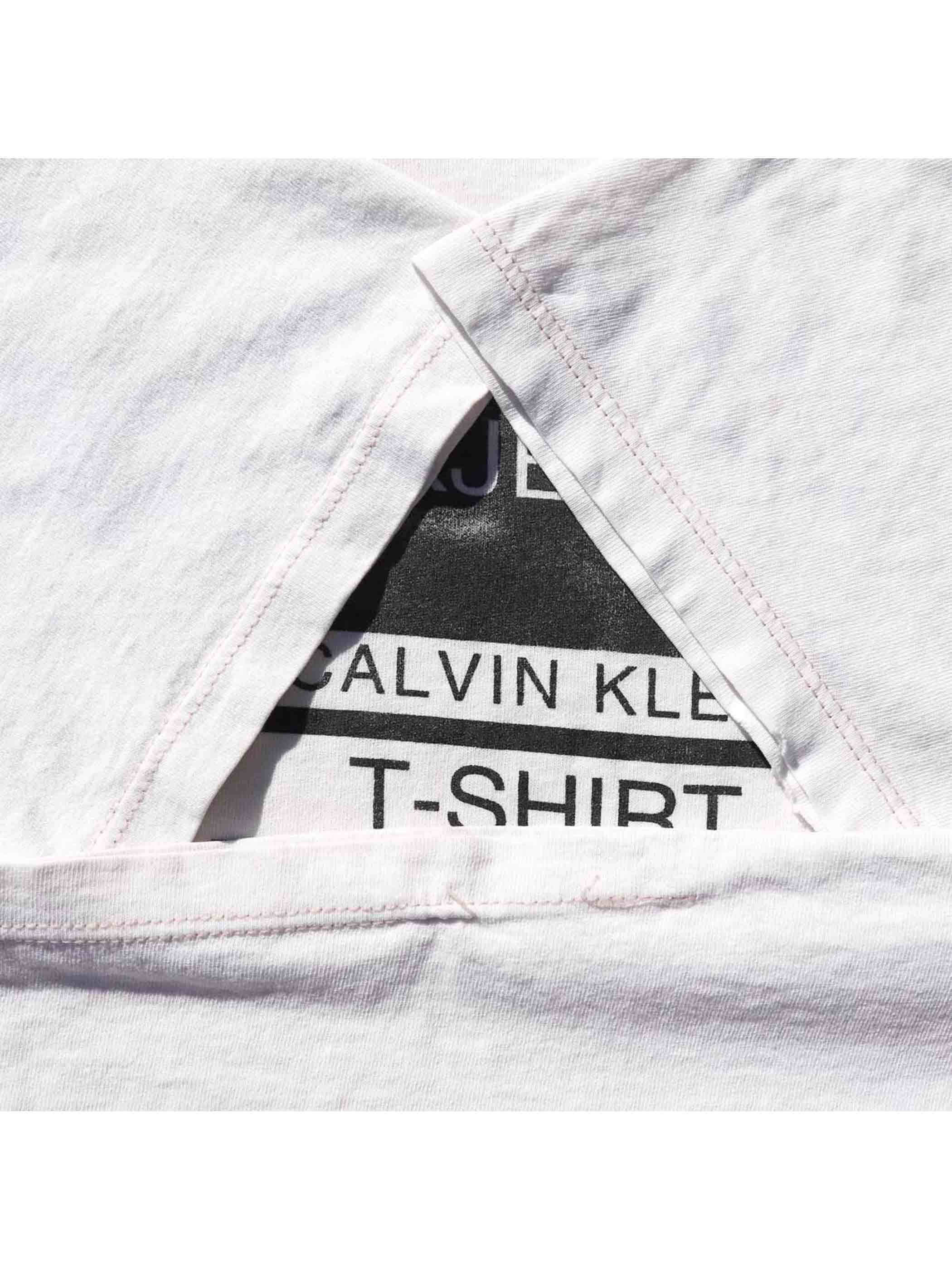 "90's CALVIN KLEIN JEANS ""T-SHIRT"" USA製 Tシャツ [L]"