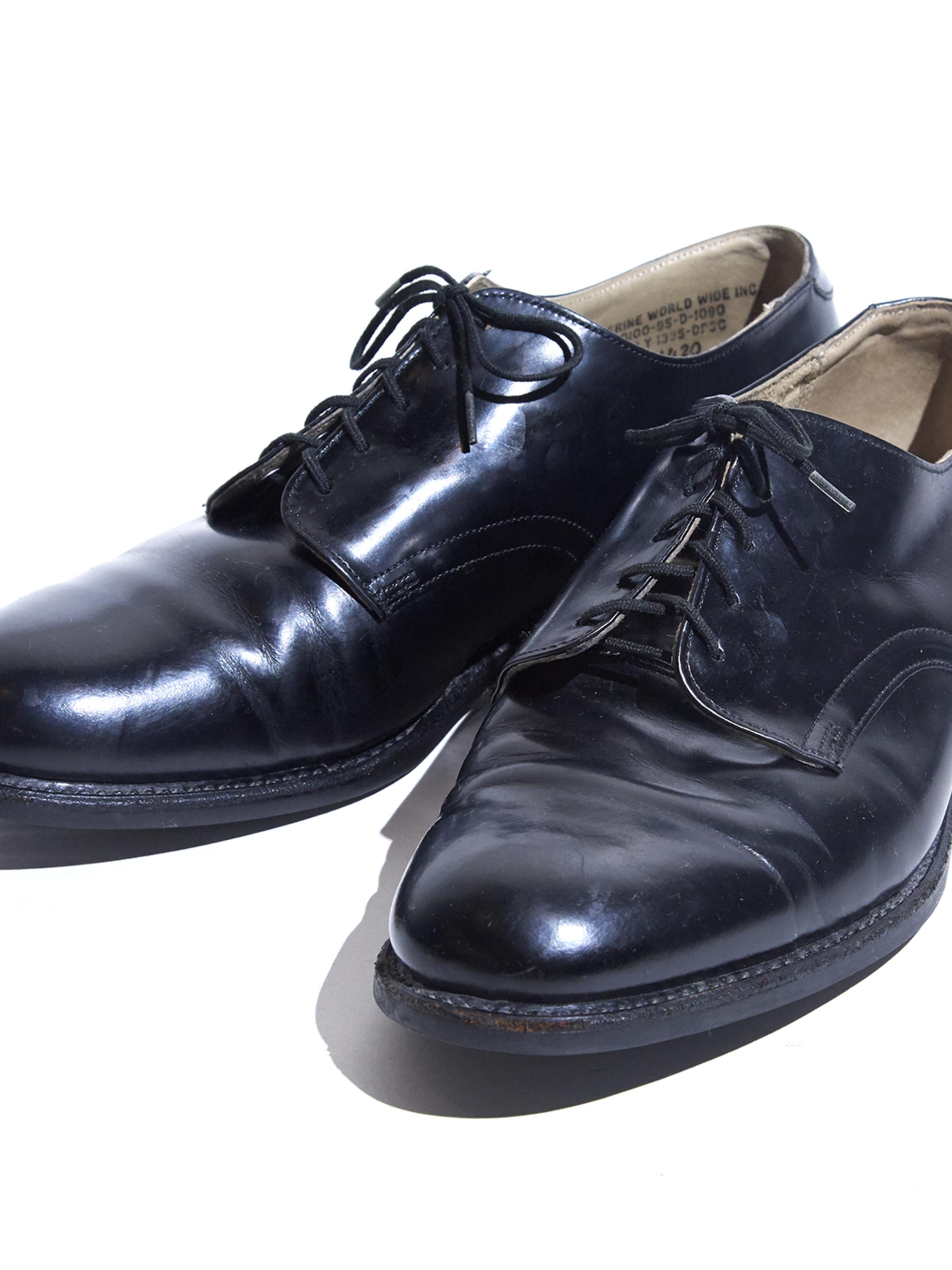 "1995y ""US NAVY"" service shoes -BLACK- <SALE¥13000→¥10400>"