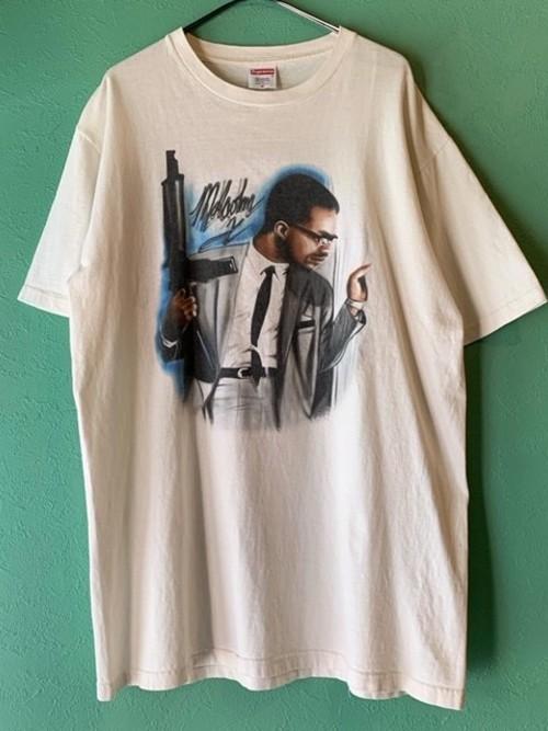 Supreme マルコムXプリントTシャツ