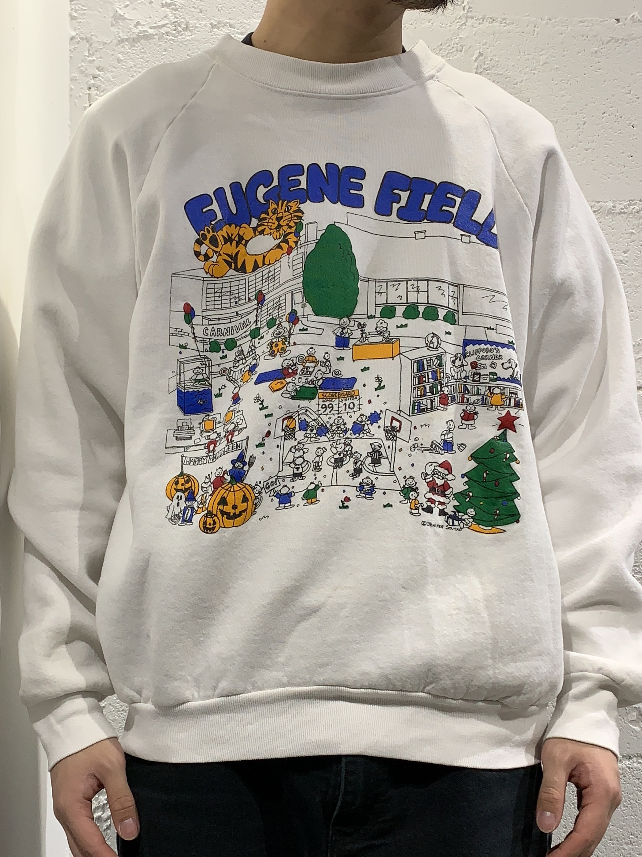 80's fruit of the loom cotton sweat