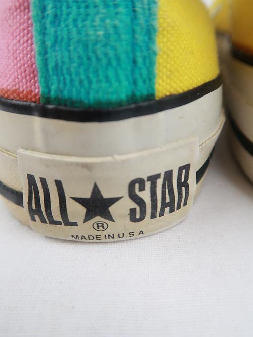 USA製 80年代 ビンテージ コンバース クレイジーパターン