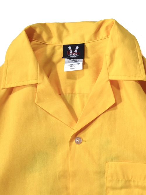 """ヒルトン ボーリングシャツ / """"Hilton"""" bowling shirt"""