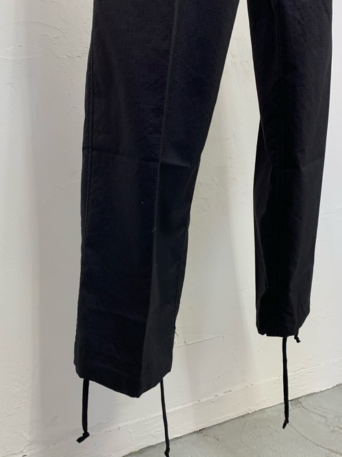 Dead stock British militaly SAS black field pants