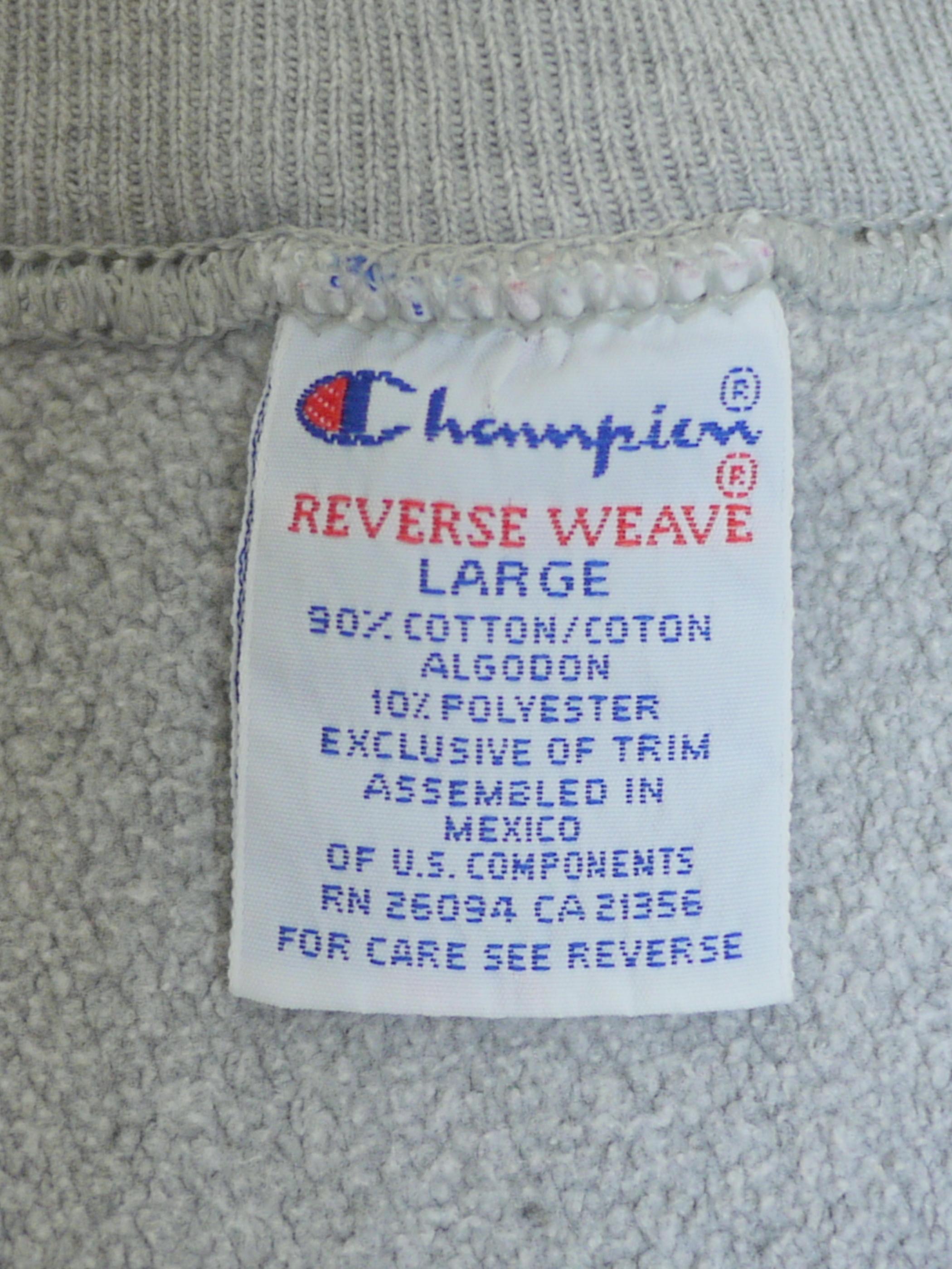 """Champion 1990's REVERSE WEAVE SizeL """"ARIZONA STATE"""""""