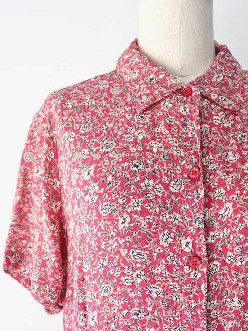 【MARKET】80s flower pattern one-piece