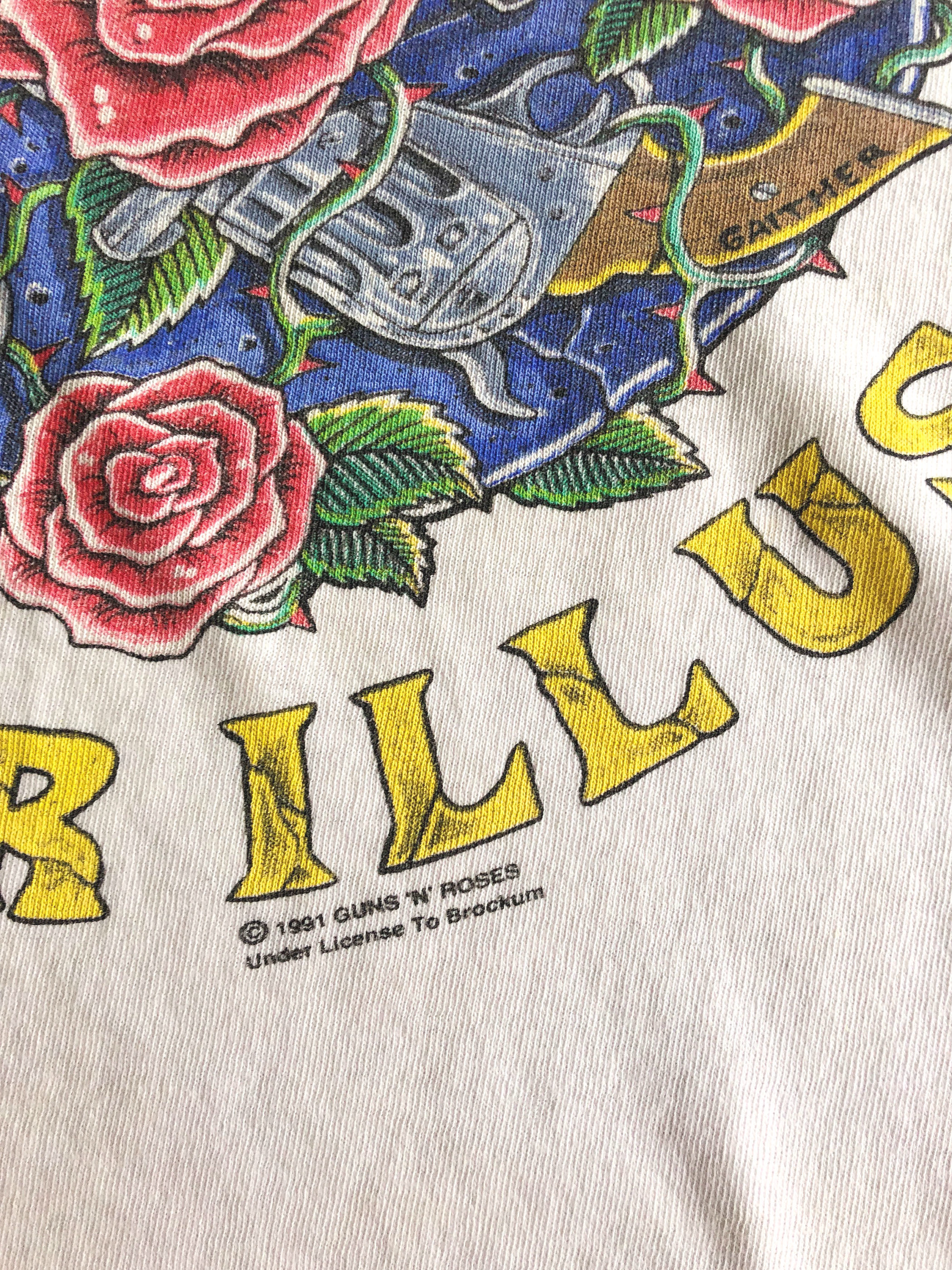 Guns N' Roses/Use Your Illusion 1991 T-shirt