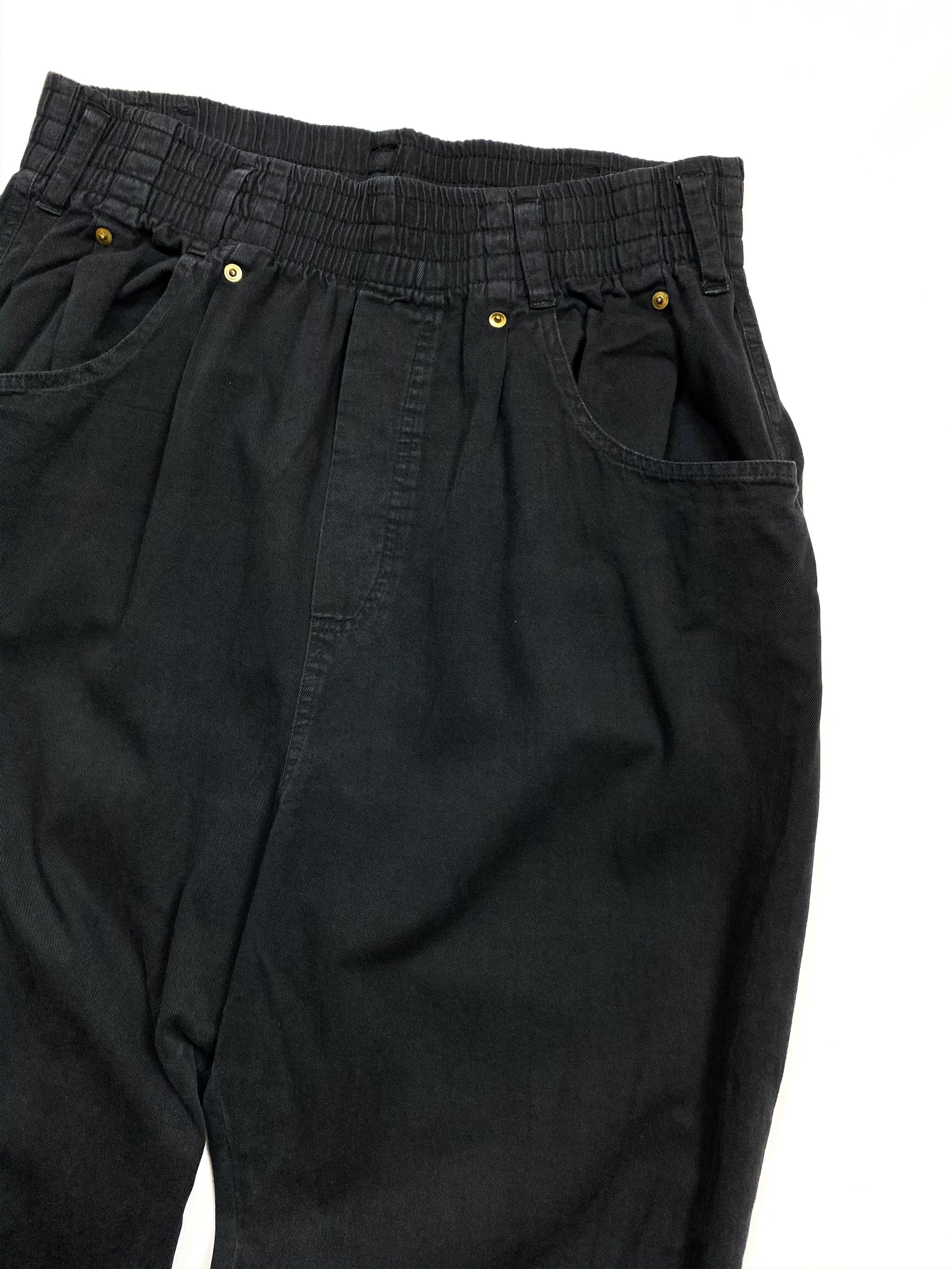 ~90's high waist easy pants