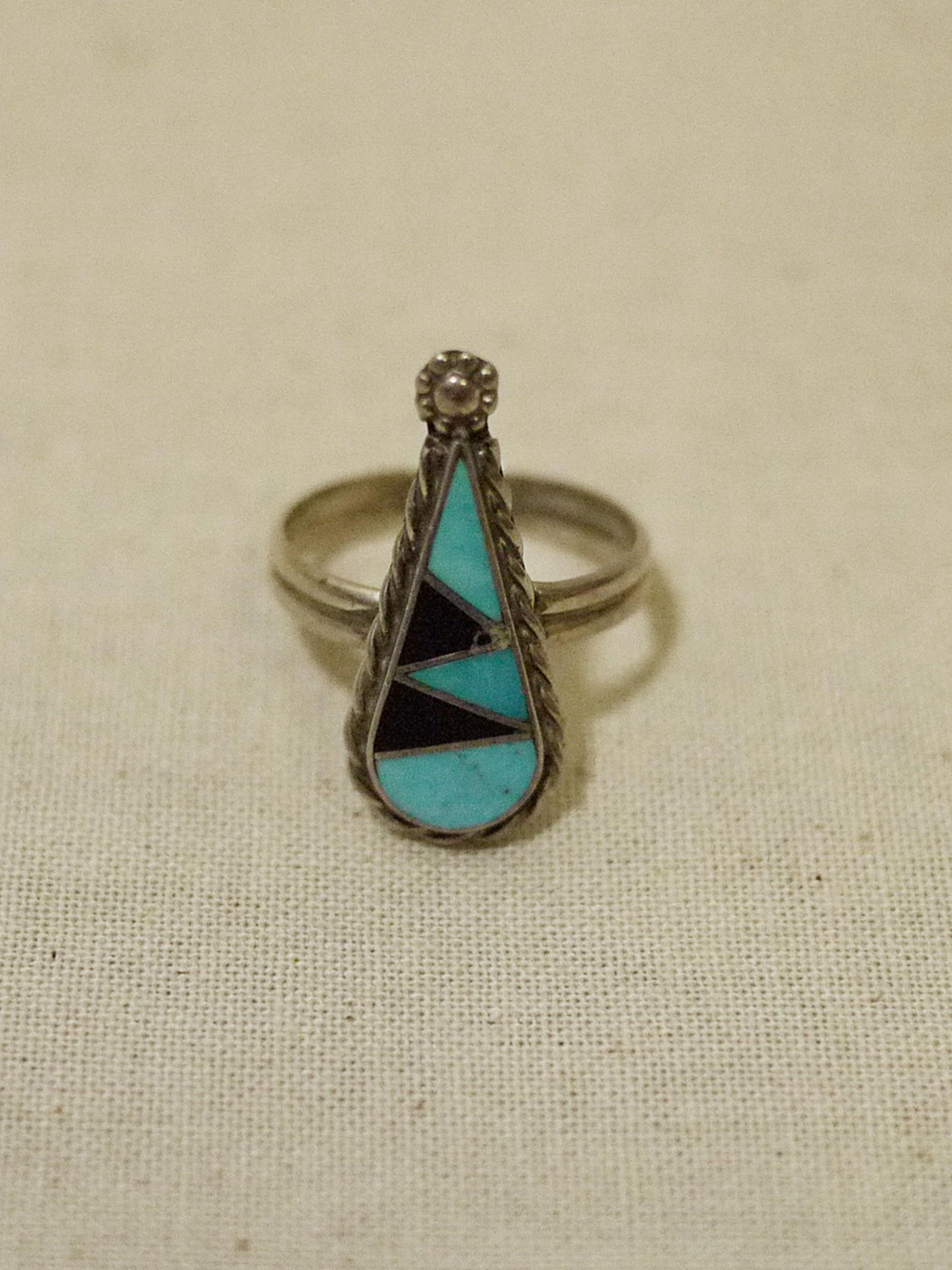 ZUNI Inlay Ring #4