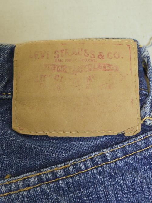 """LEVI'S 1960's 501 """"BigE"""""""