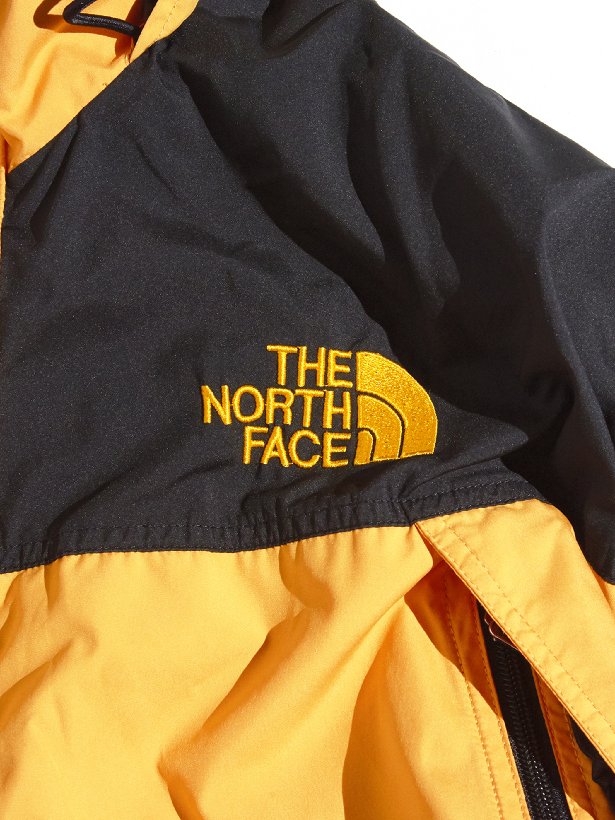 "1990s ""THE NORTH FACE"" soft shell jacket -YELLOW-"