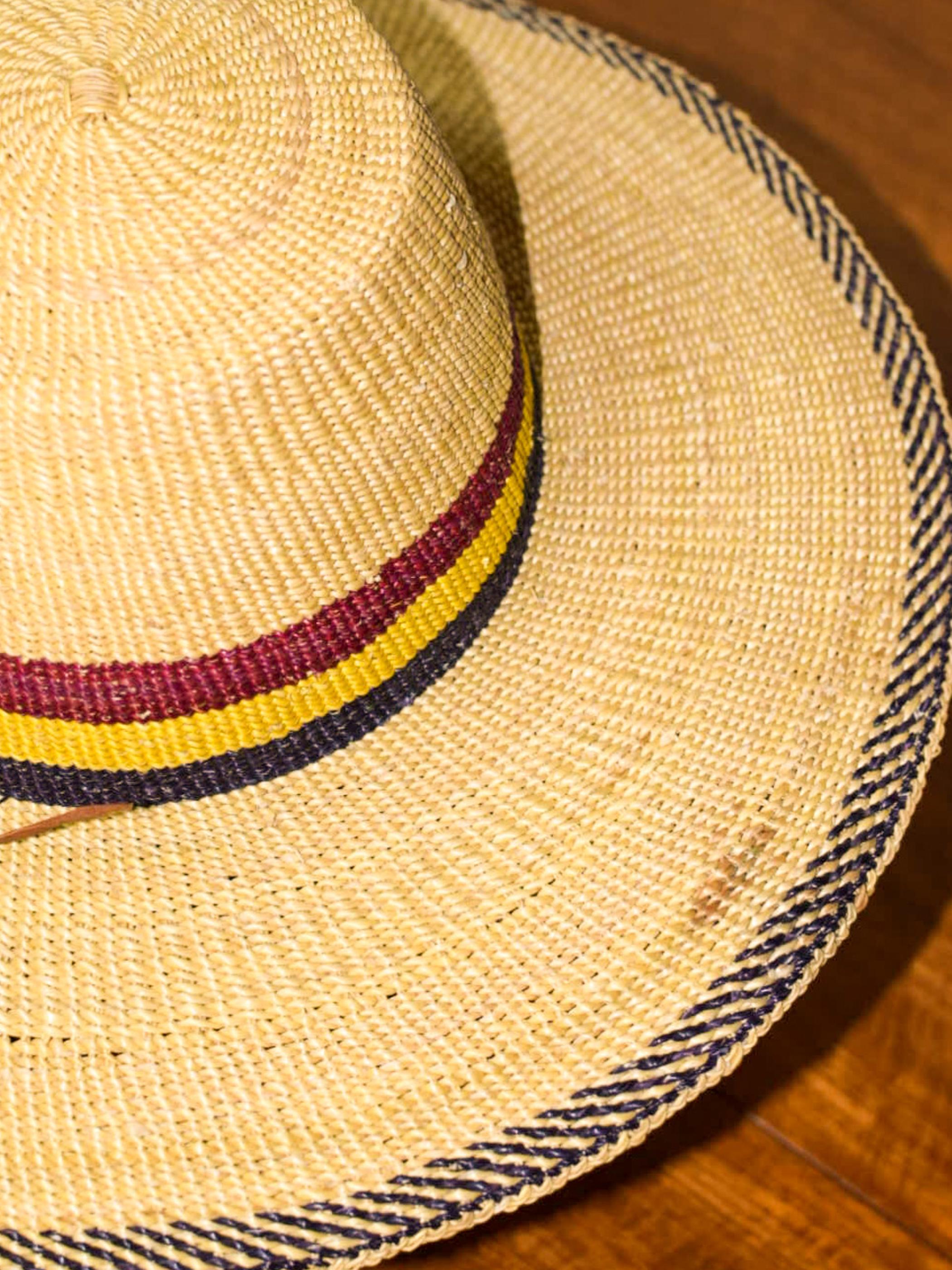 African straw hat /アフリカンストローハット