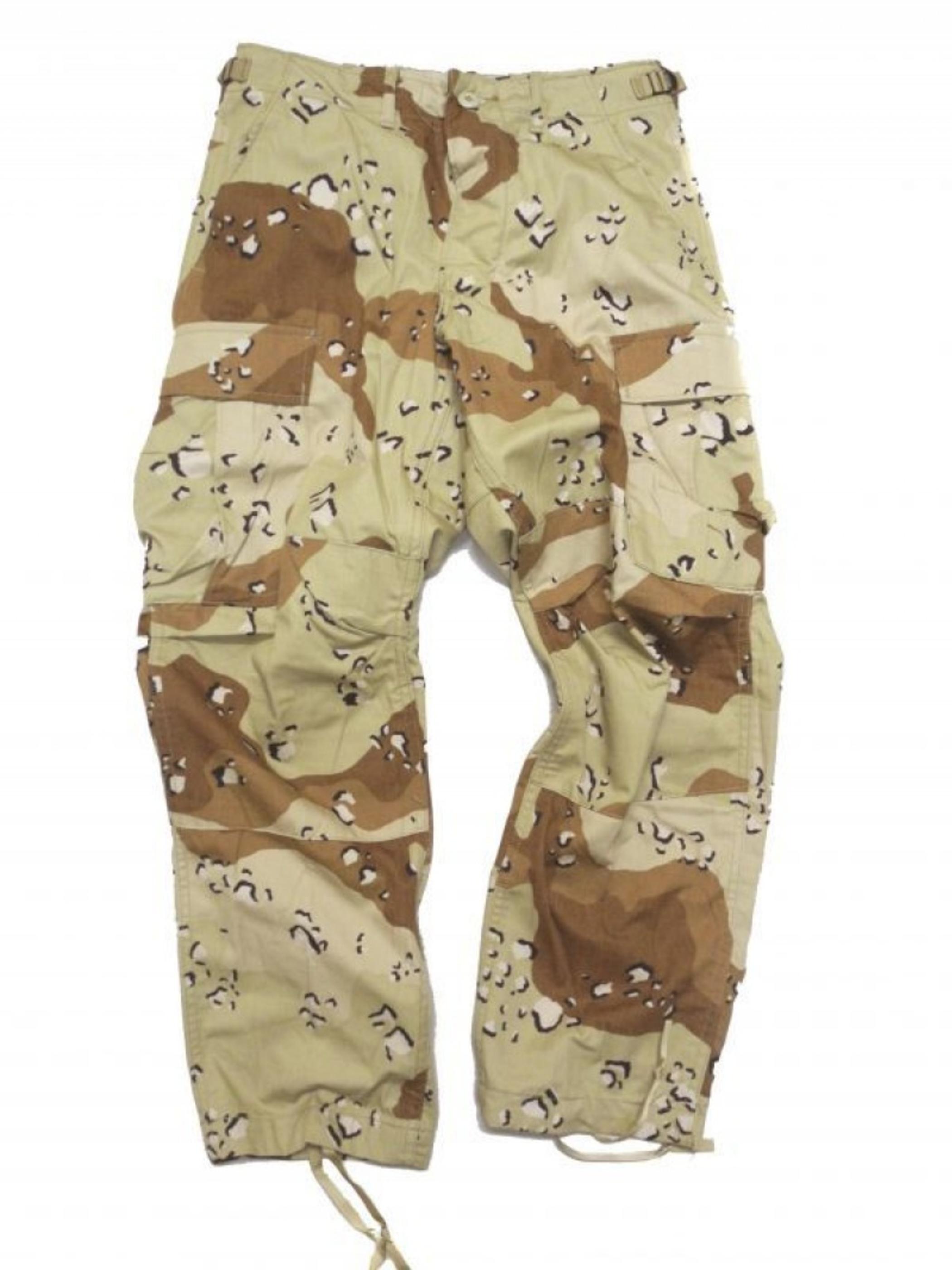 DEADSTOCK US ARMY 6C DEASERT CAMO BDU PANTS
