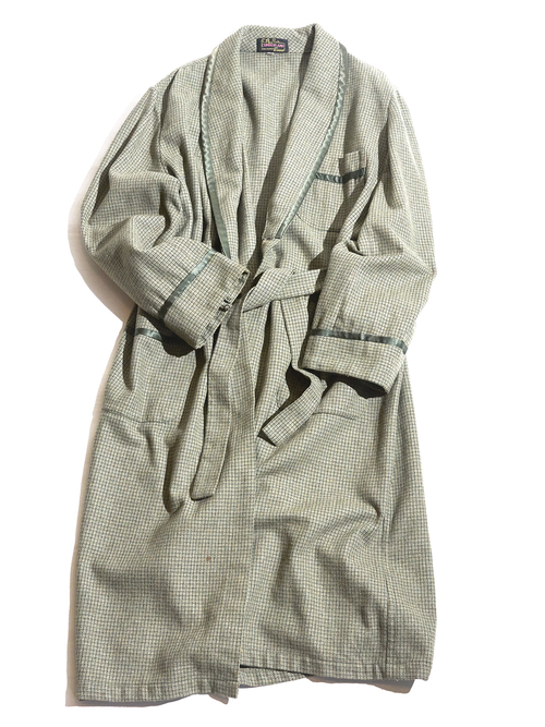 "1960s ""CUMBERLAND"" tweed wool gawn -MOSSGREEN- <SALE¥17000→¥13600>"