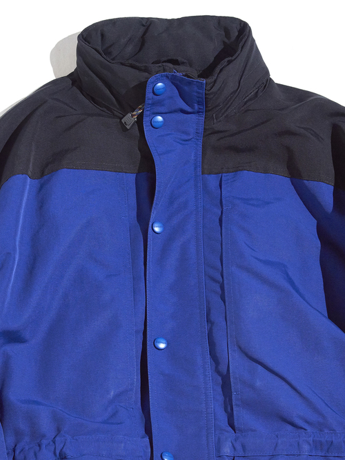 "1990s ""Carhartt"" 2tone shell jacket -BLUE×BLACK- <SALE¥15000→¥12000>"
