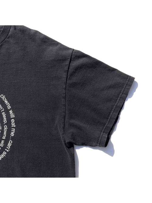 "00's BART SIMPSON ""CAN'T SLEEP, CLOWNS WILL EAT ME..."" T-Shirt [XL]"