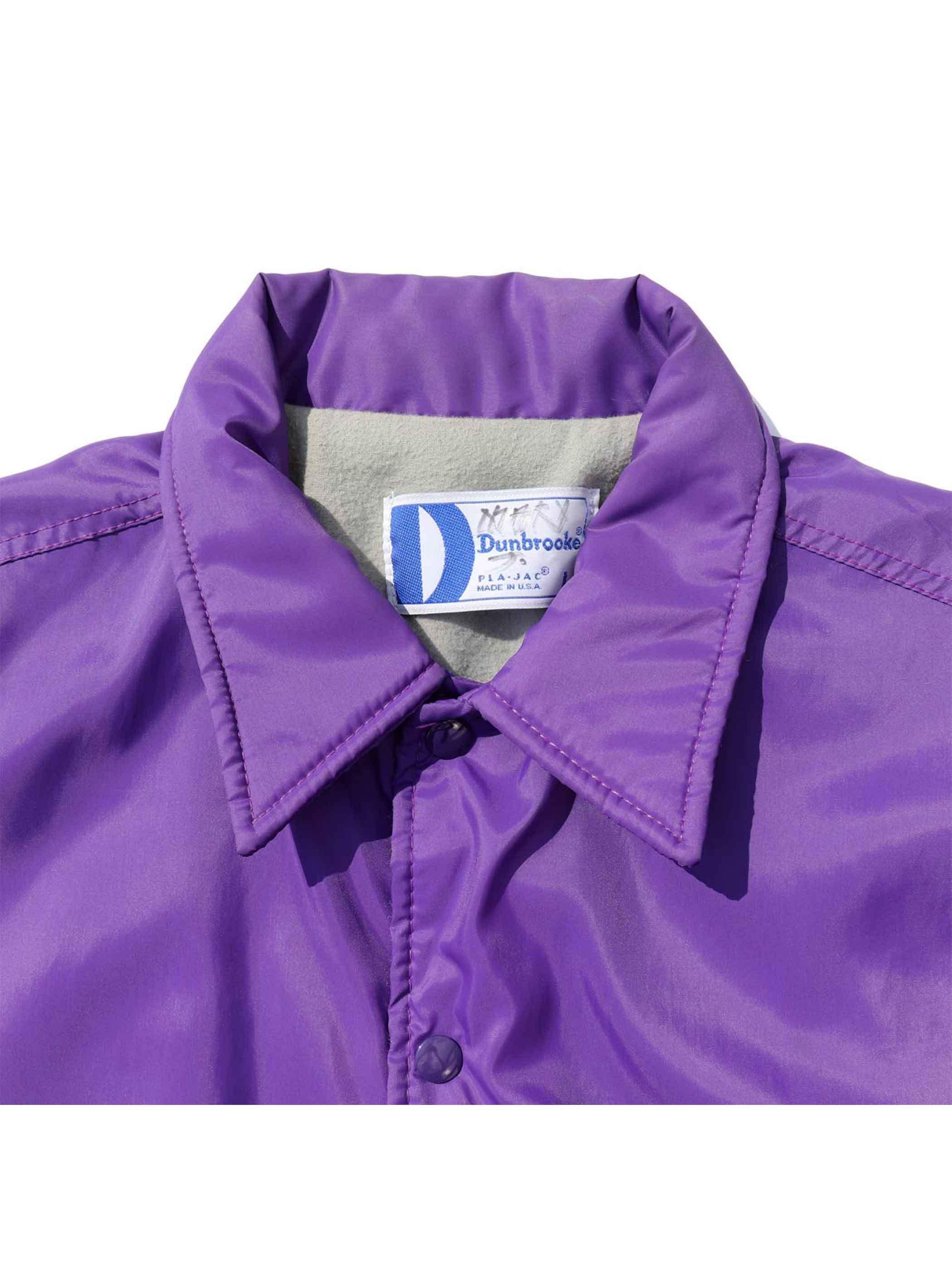 90's DUNBROOKE USA製 ナイロンコーチジャケット [L]