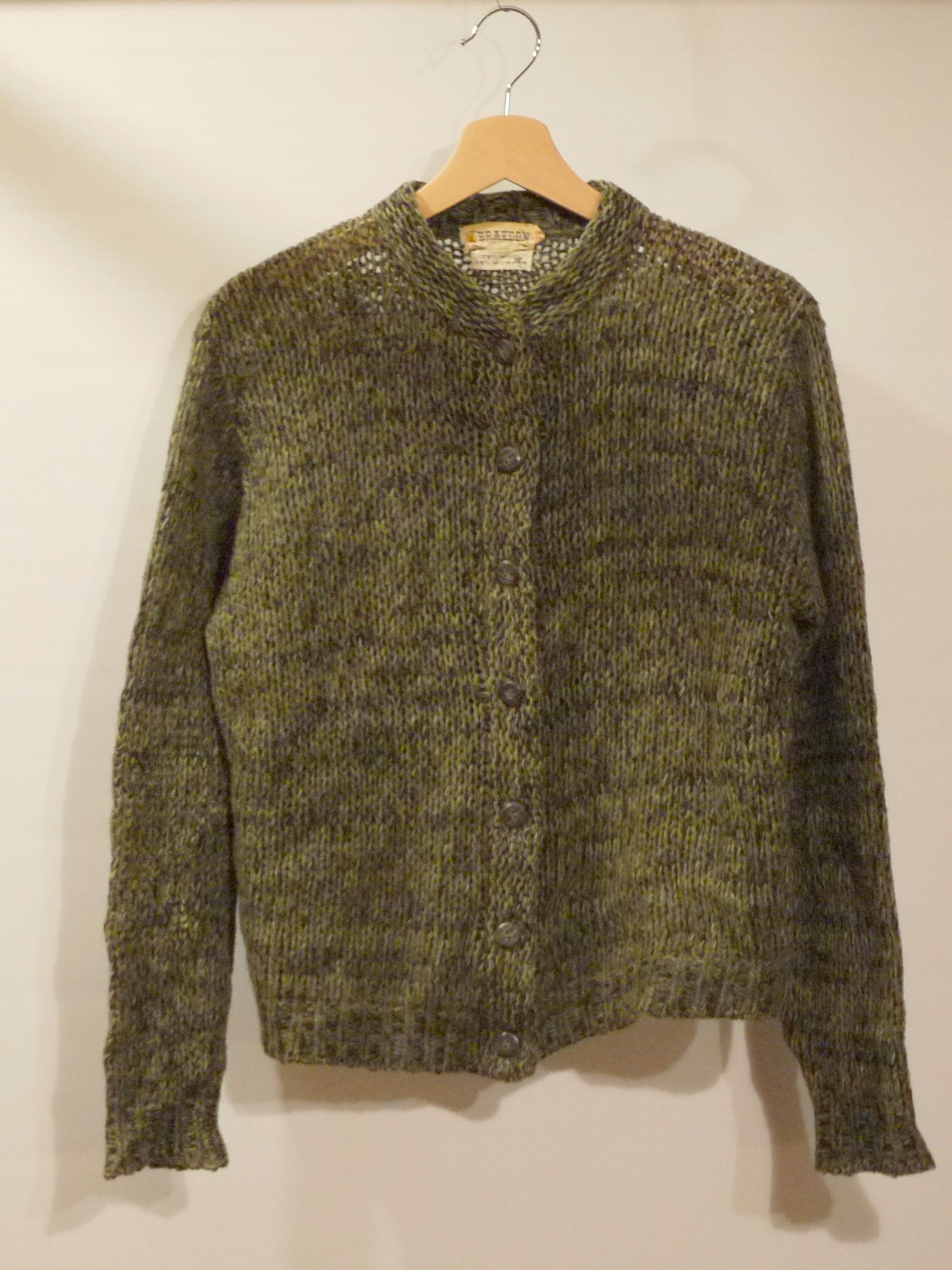 BRAEDON Mohair cardigan Size38