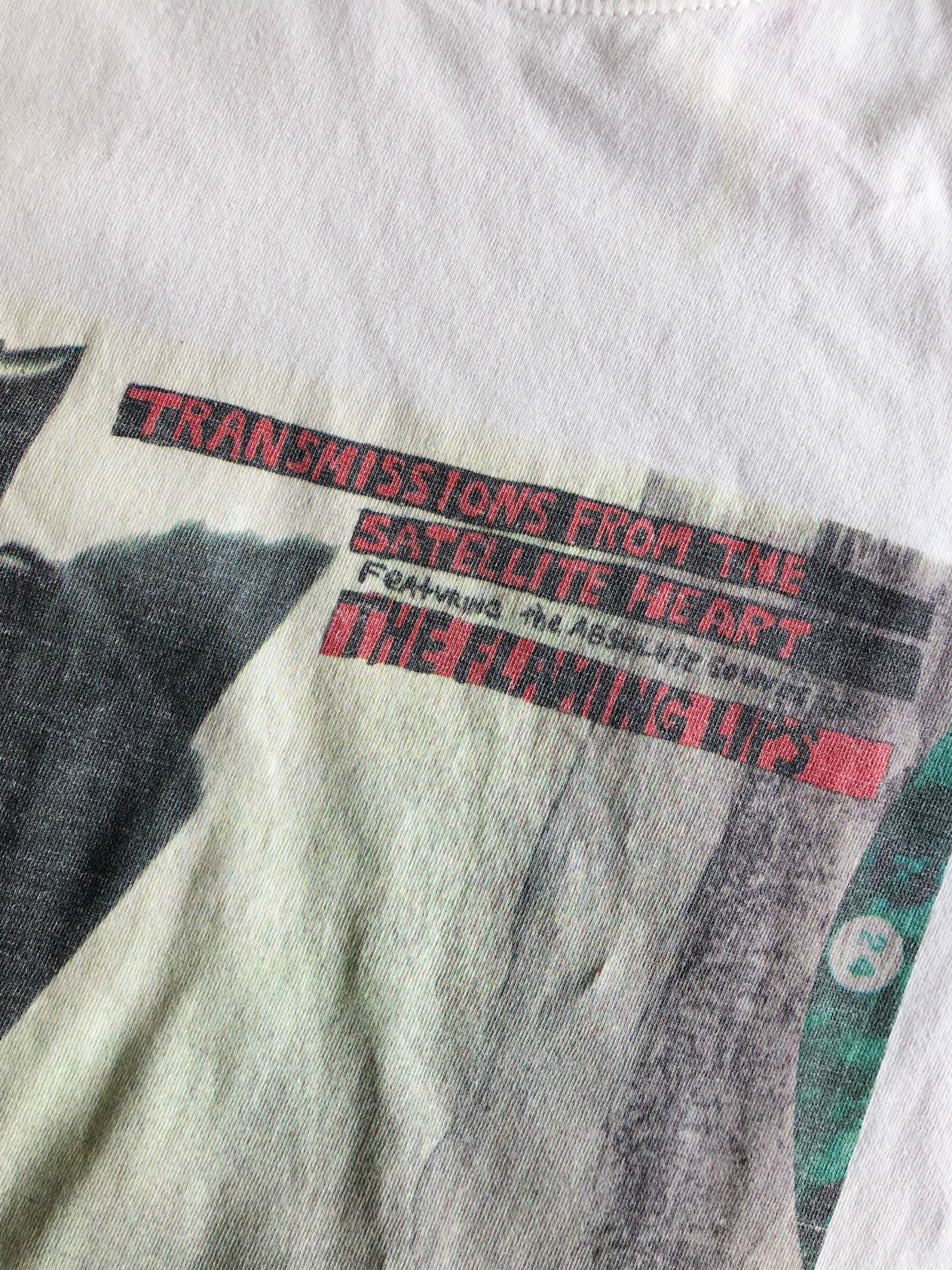 THE FLAMING LIPS/Transmissions From Satellite Heart 1993 T-shirt