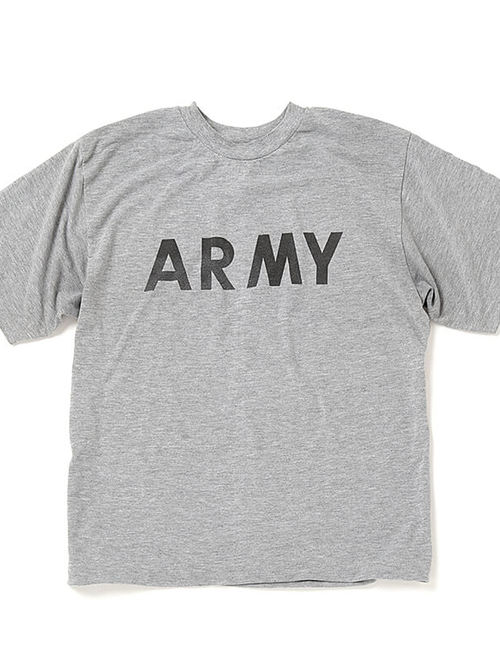 US Army × hallelu Products / ARMY Logo Reflector Back Print Big T-Shirt