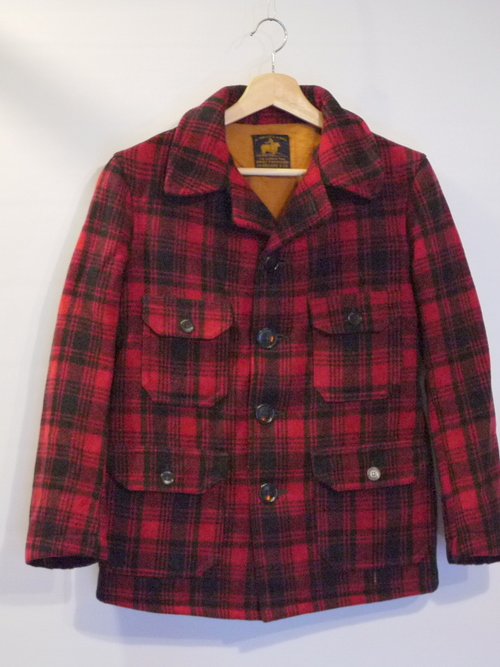 "J.O.BALLARD&CO 1930's Wool Mackinaw Jacket ""MALONE COAT"""