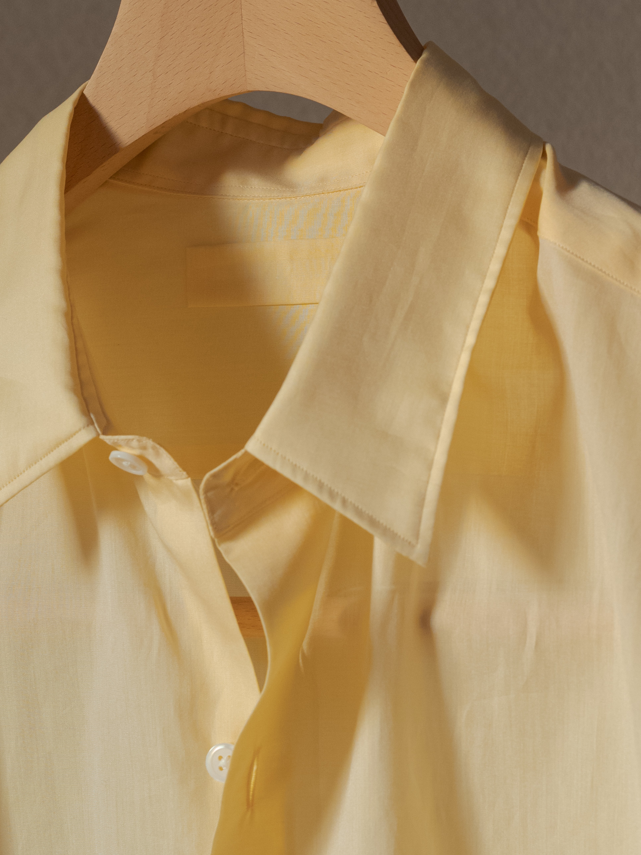 レギュラーカラーセミハンドシャツ