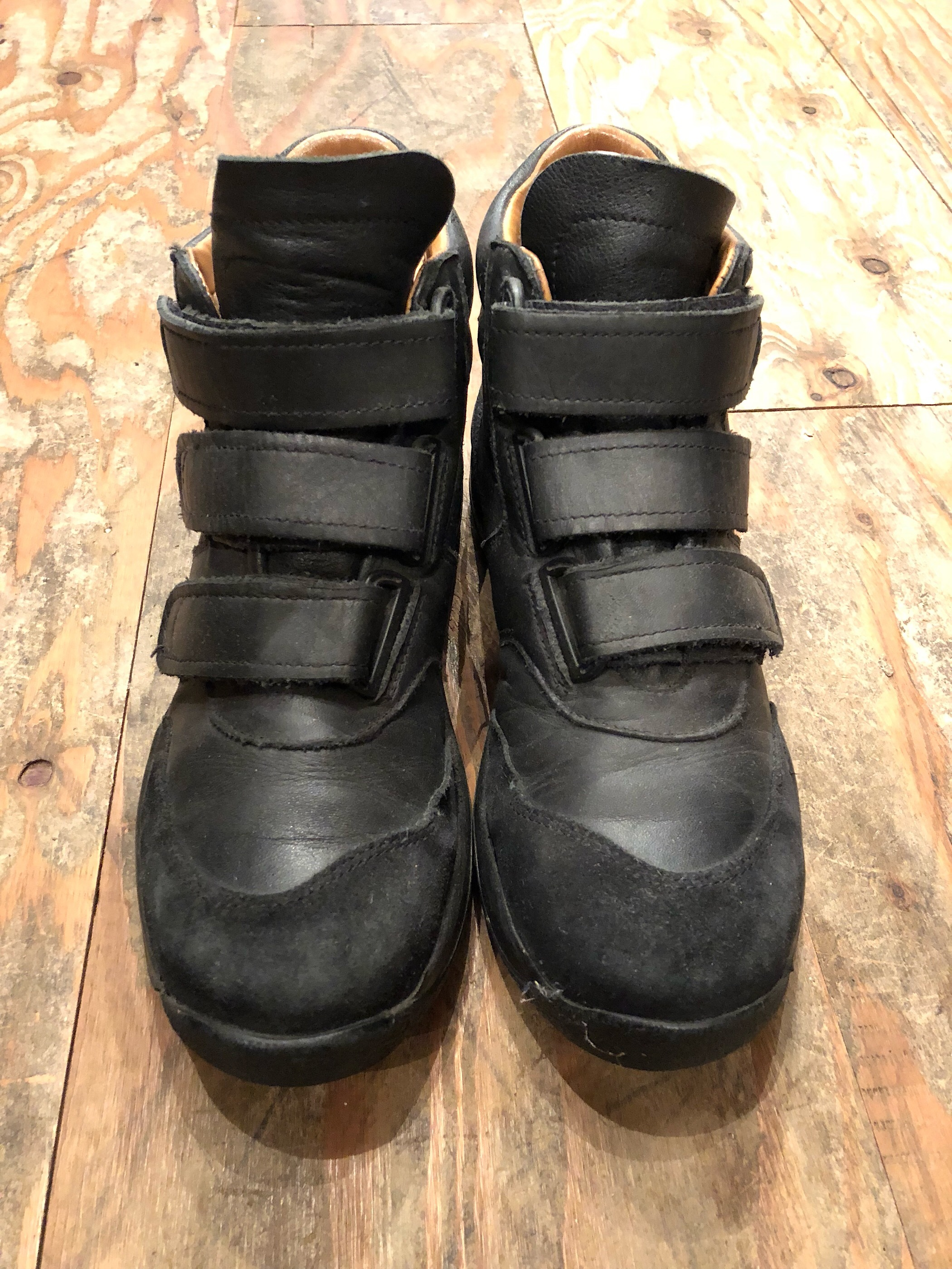 German military Velcro shoes
