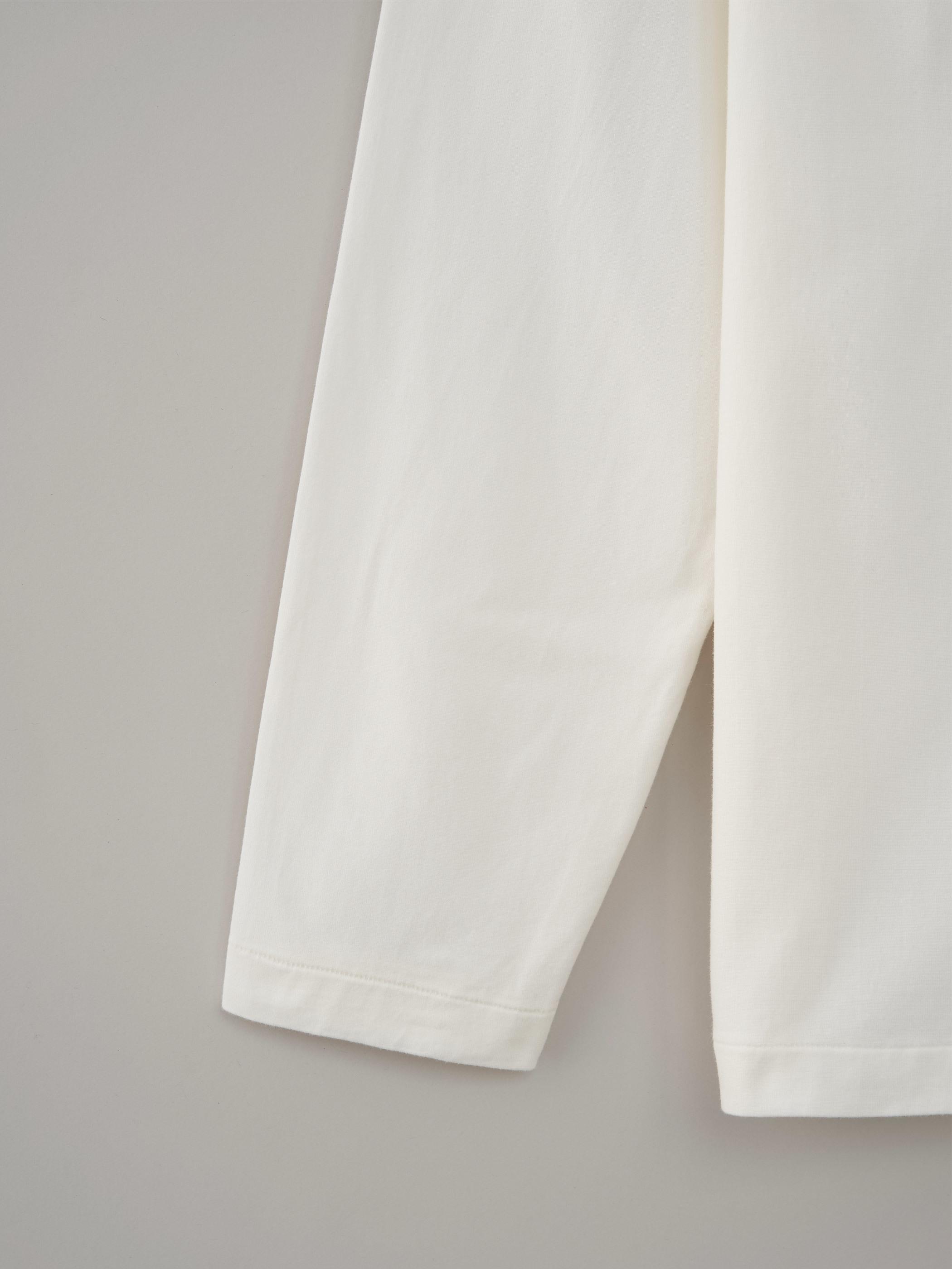 丸胴ロングスリーブTシャツ #04ジンジャー
