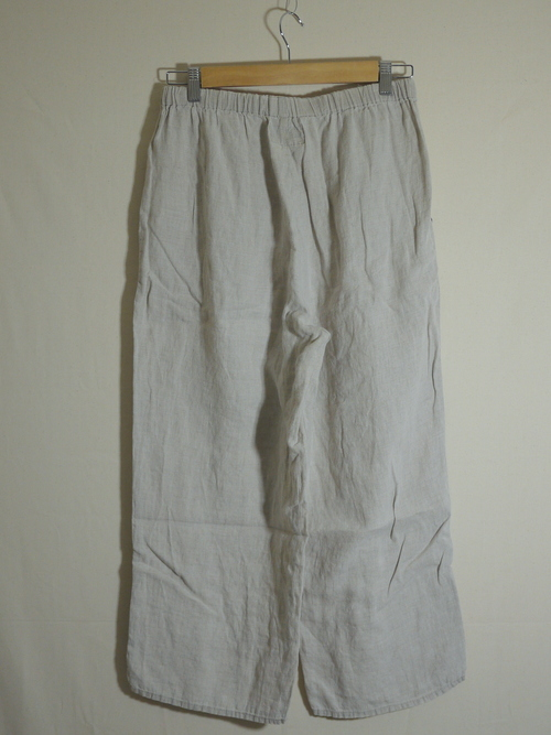 "FLAX Linen pants SizeS ""Beige"""
