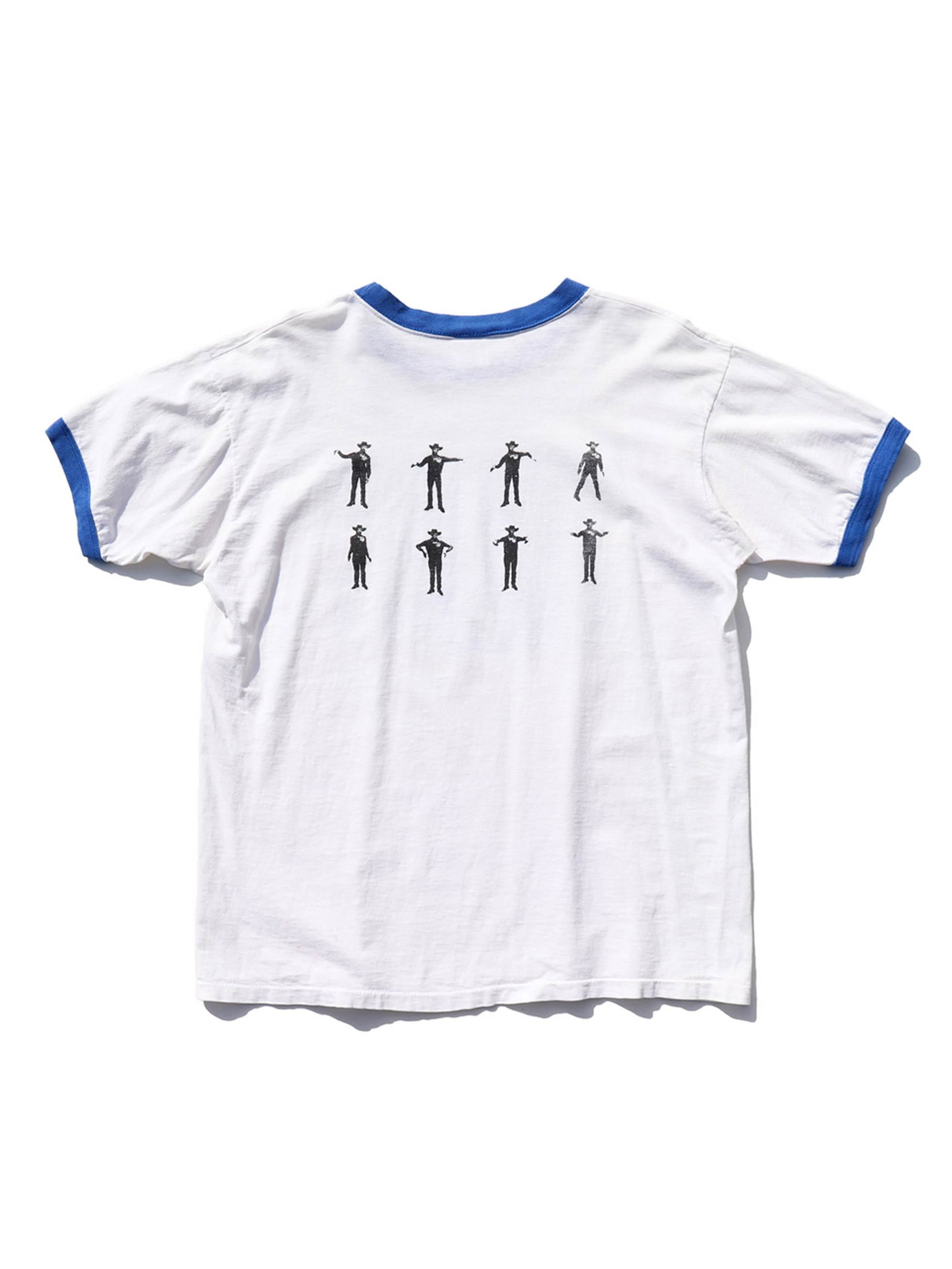 """90's BECK """"WHERE IT'S AT"""" USA製 リンガーTシャツ [L]"""