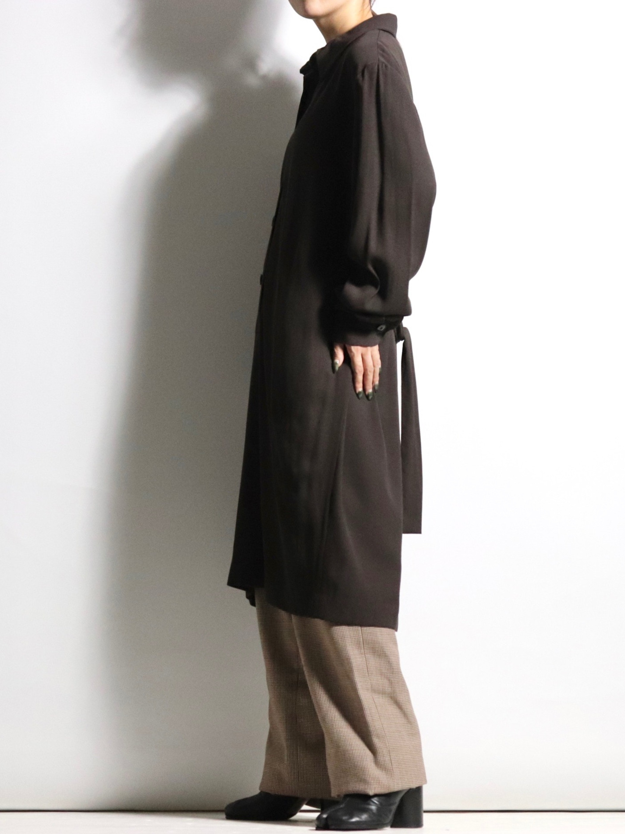 Pullover shirt one-piece