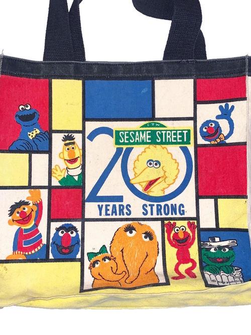 SESAME STREET セサミストリート tote bag