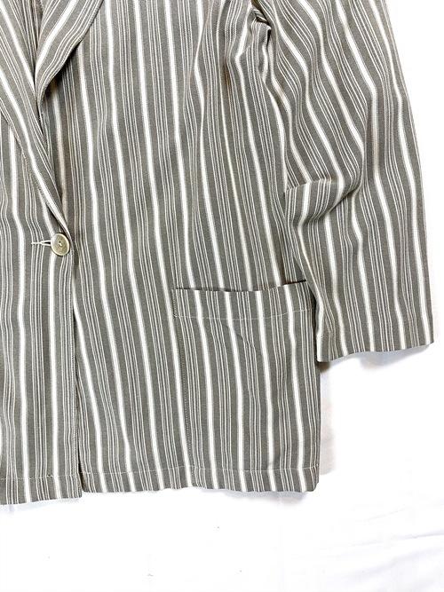SAG HARBOR stripe easy jacket