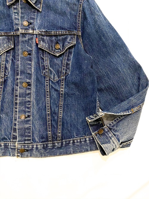 60's LEVI'S 70505 BIG E denim jacket