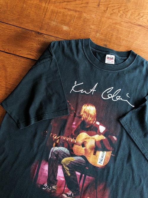 NIRVANA/Kurt Cobain 90's T-shirt