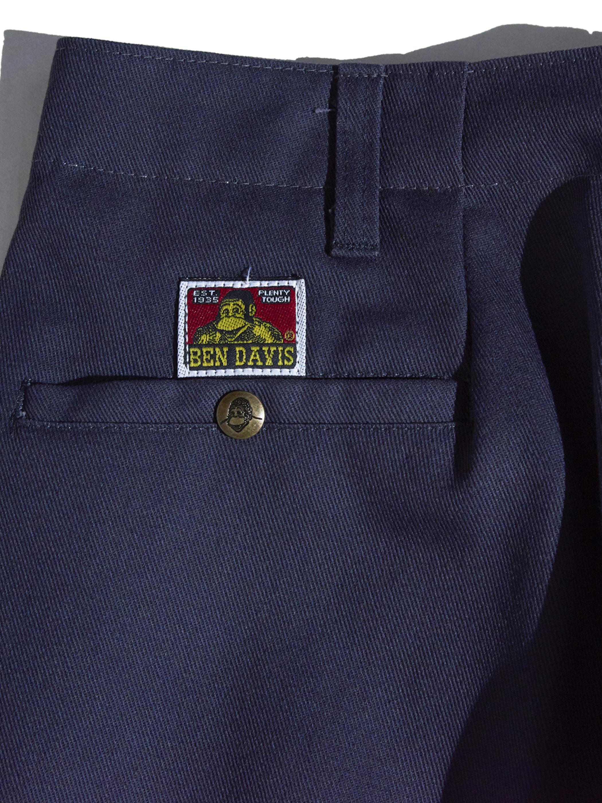 """1990s """"BEN DAVIS"""" custom tuck work pants -GREY-"""